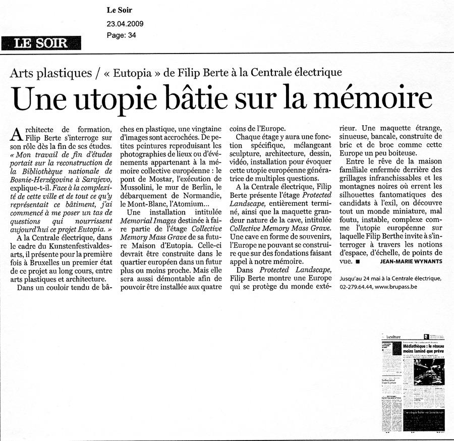 LeSoir29april09